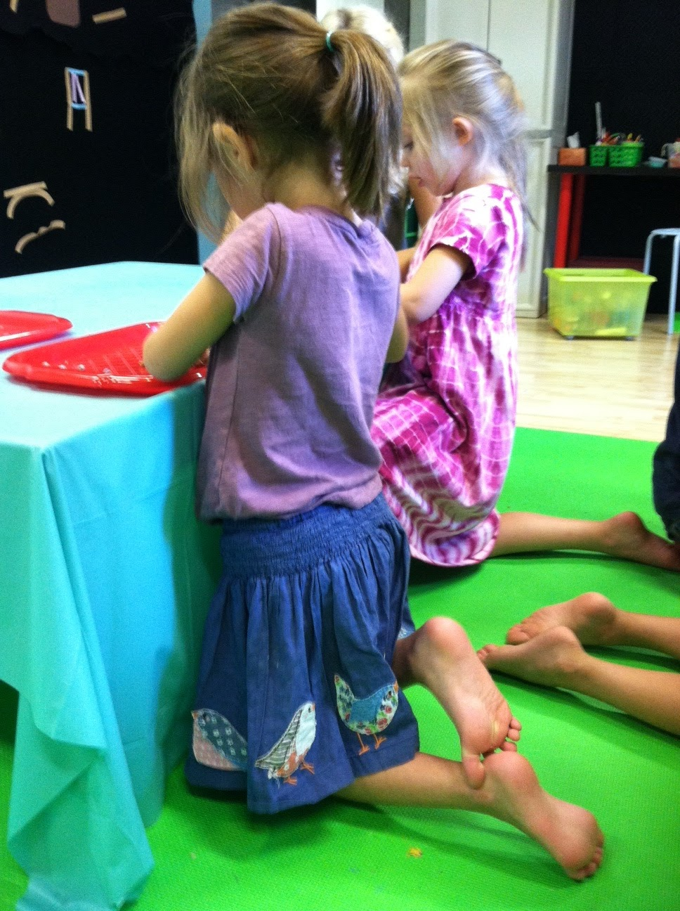 Developing Minds Through Occupational Therapy Kneeling