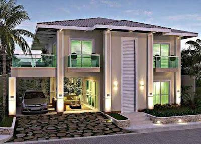 Inspirasi Desain Rumah Minimalis yang Bagus dan Modern 2 Lantai