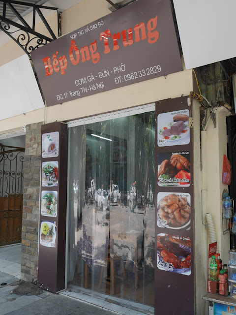 All delicious Vietnamese food by Bếp Ông Trung, Hanoi Old Quarter