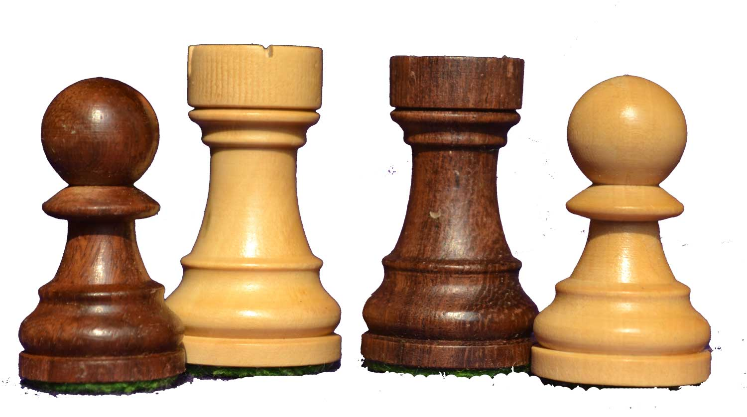 wooden tournament staunton chess set rosewood azacus for indian