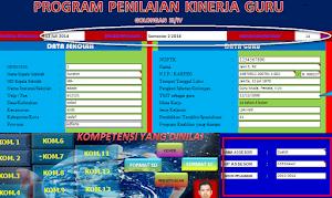 Aplikasi Excel Penilaian Kinerja Guru (PKG)
