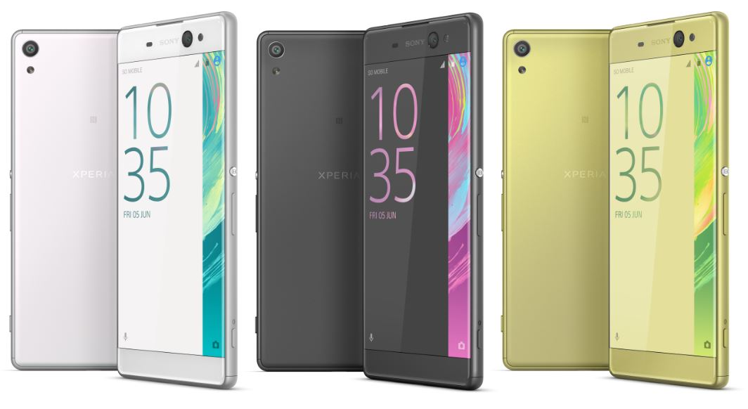 e1e49f8a1 Sony Xperia XA Ultra comes with same characteristics of the new X line with  its edge to edge screen encase in thin frame coated that comes in White