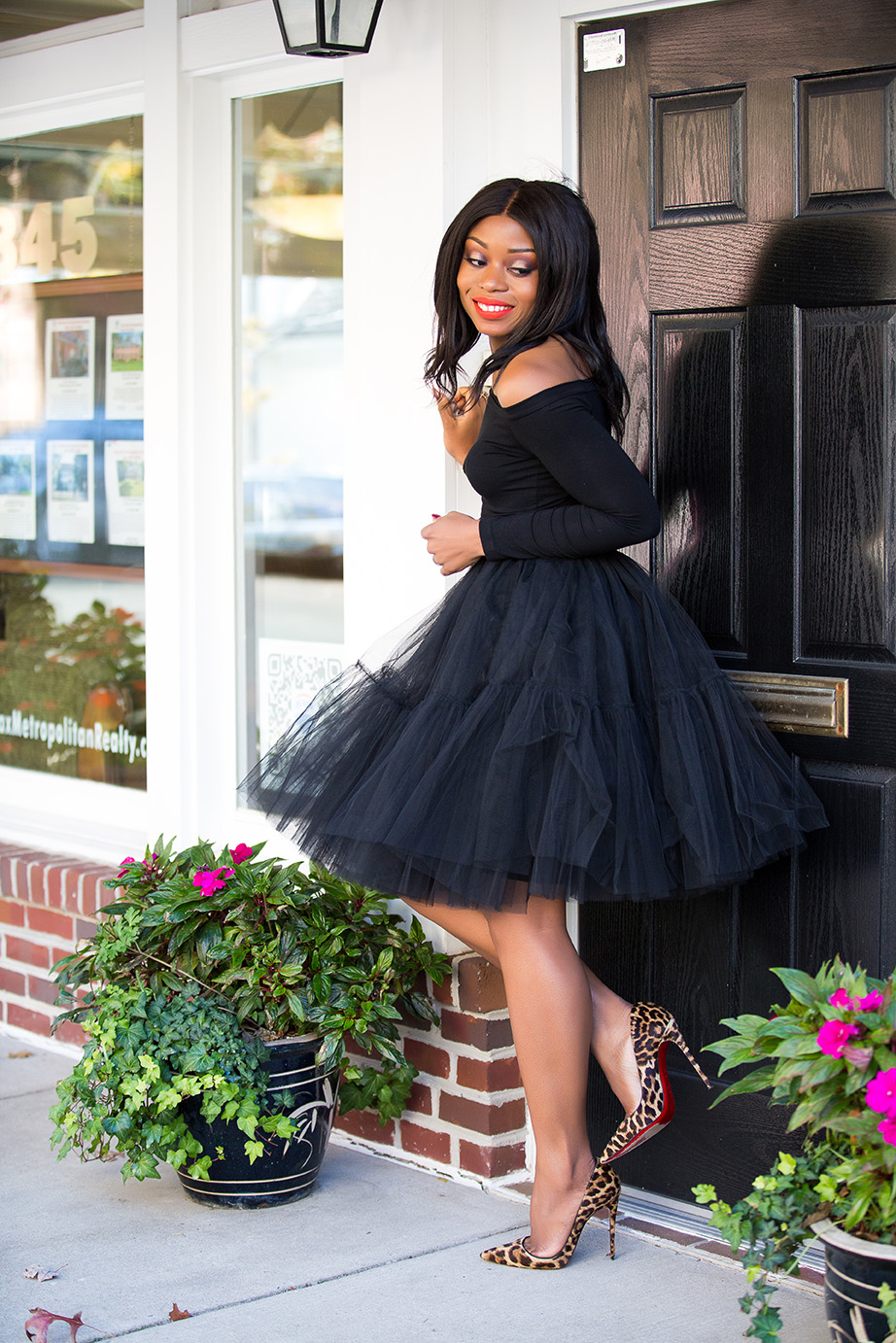 costume party in tulle skirt, www.jadore-fashion.com