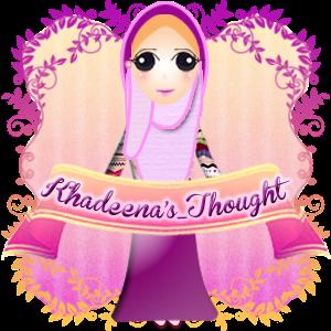 Tempahan Design Banner Doodle dan Header Bllog Khadeena's Thought