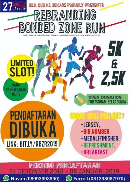 Rebranding Bonded Zone Run • 2019