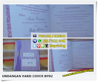 Undangan Hard Cover Murah