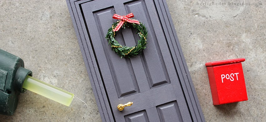 Top Juleforberedelser i september / Nissedør | Sirlig IU15