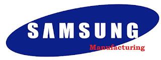 Loker Samsung Manufacturing Elektronik Mesin Produksi 2020