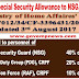7th CPC Special Security Allowance to NSG, PDG & RAF - Min.of Home Affairs Order