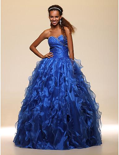vestidos de 15 años azul petroleo