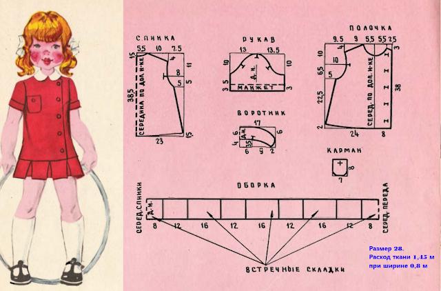 Как сшить ретро-платье для девочки