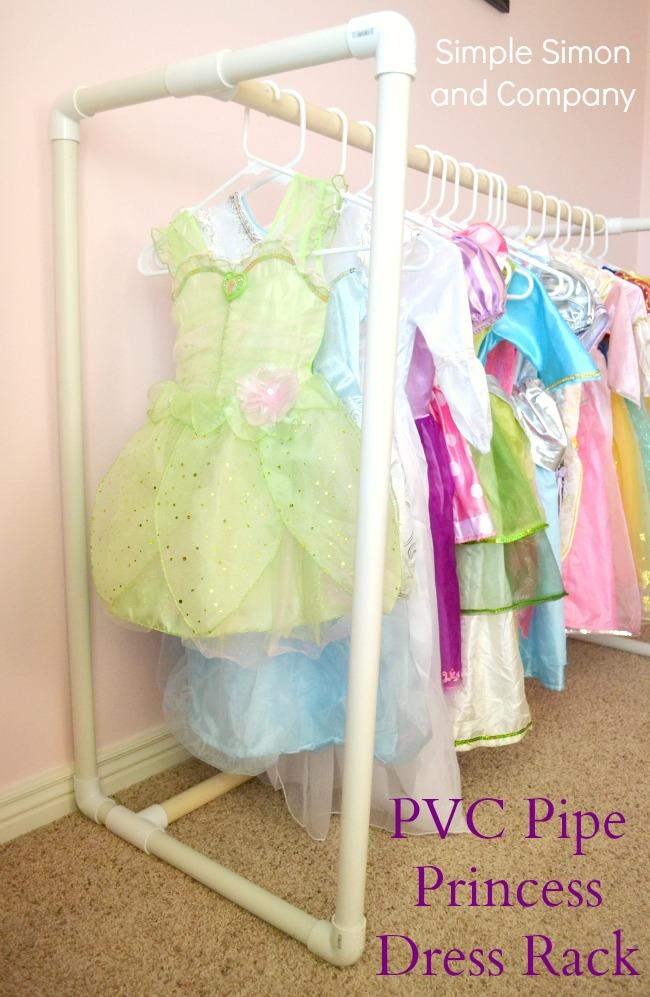 Diy Pvc Pipe Princess Dress Rack A How To Simple Simon And Company