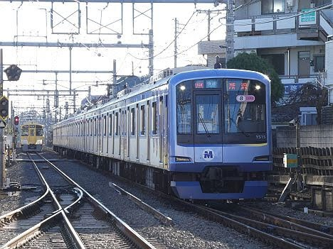 西武池袋線 快速 所沢行き3 横浜高速鉄道Y500系