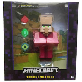 Minecraft Villager Survival Mode Figure