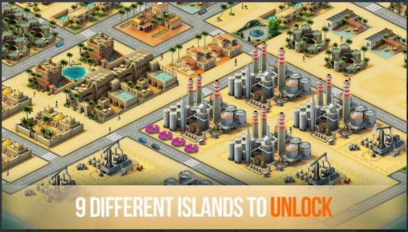 Game Membangun Android Offline: City Island 3 MOD APK