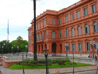 Casa Rosada, em Buenos Aires: A Sede do Governo da Argentina