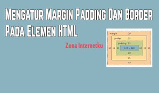 Memahami Fungsi Margin, Padding Dan Border Di CSS