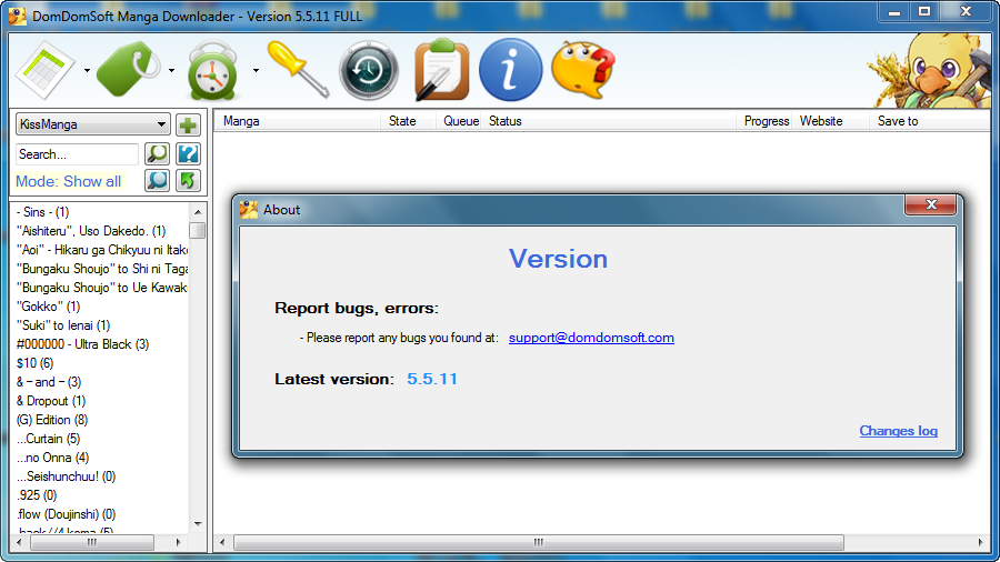 Get DomDomSoft Manga Downloader Crack