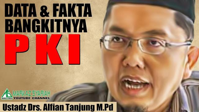 Rezim Apa Ini ! Ungkap Tokoh PKI di Istana dan DPR, Alfian Tanjung Kok Malah Dipolisikan