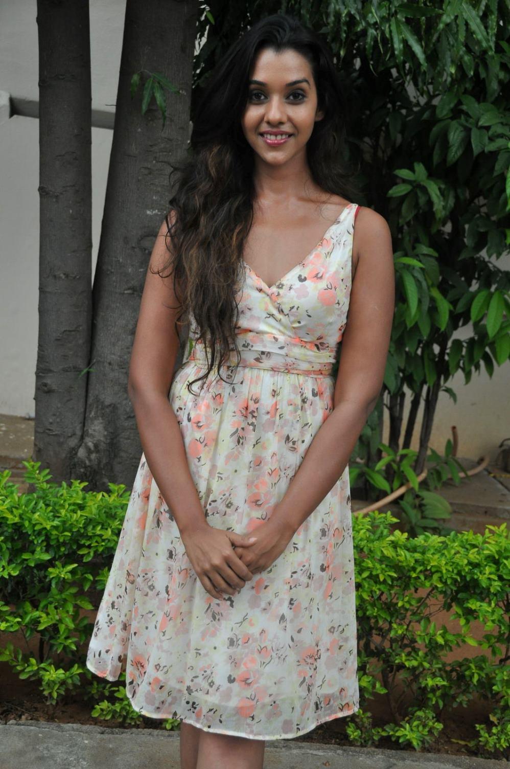Anu priya latest photos at potugadu press meet