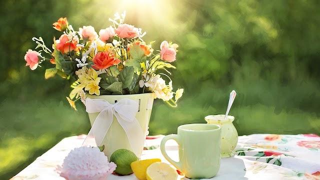 FLOWERS = COLOURS, POSITIVE THINKING, OPTIMISM