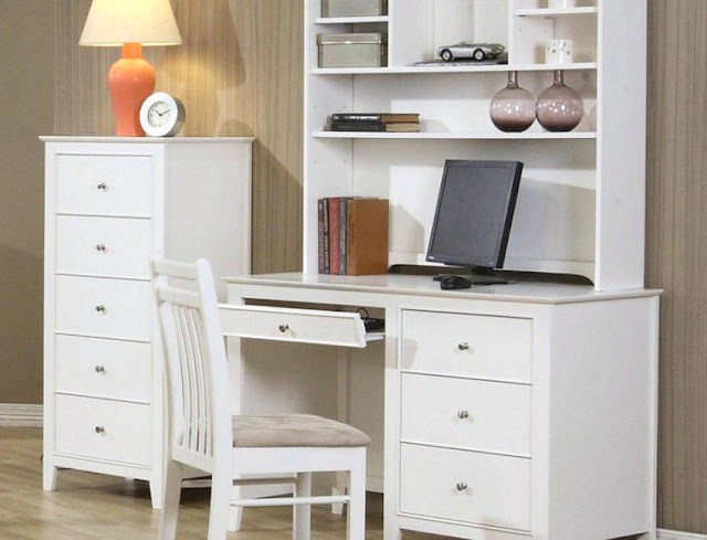 best buy white wood home office furniture sets in Houston Texas for sale