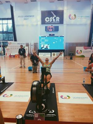 Olena Buryak dio a Ucrania el oro en el remo bajo techo, uno de los deportes de exhibición de los Juegos Mundiales 2017
