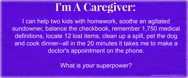 caregiver superhero meme