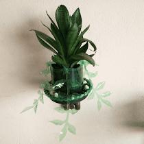 Vaso em Pet Modelo VS3