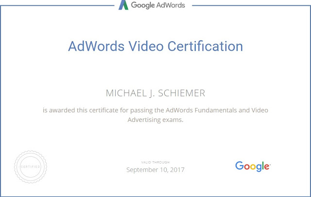 Google AdWords Certification Video Advertising Guide