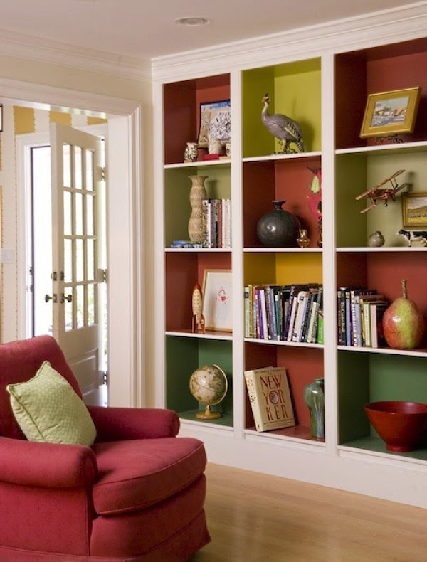15 functional living room shelving ideas and units for Built in designs living room