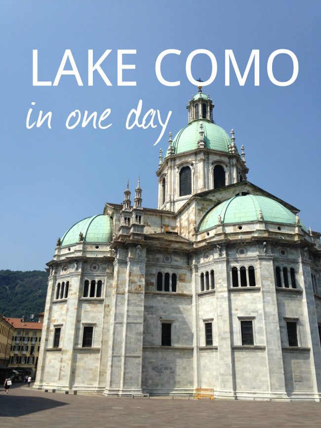 Lake Como in One Day