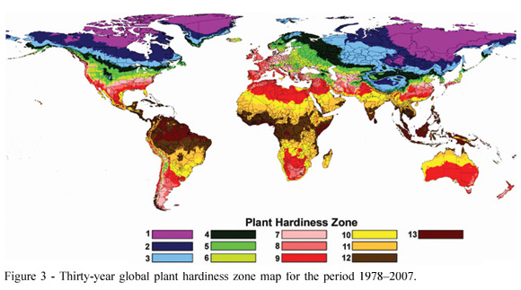 Plant Hardiness Zones Us Canada