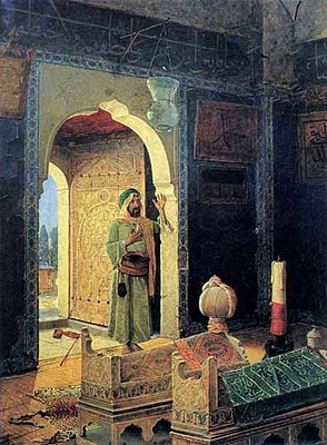 Patrick Comerford: Two Turkish paintings and a glimpse of