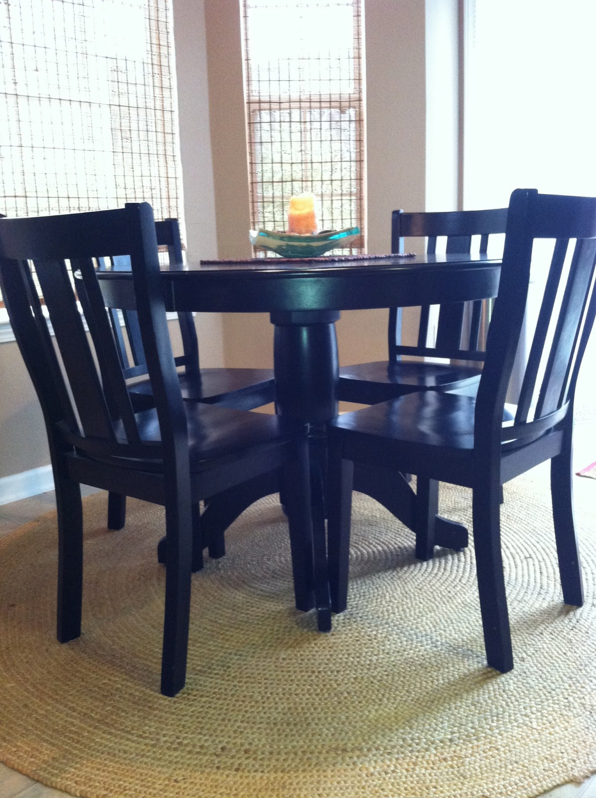 FOR SALE by mle: SOLD...Dining Table and Chairs