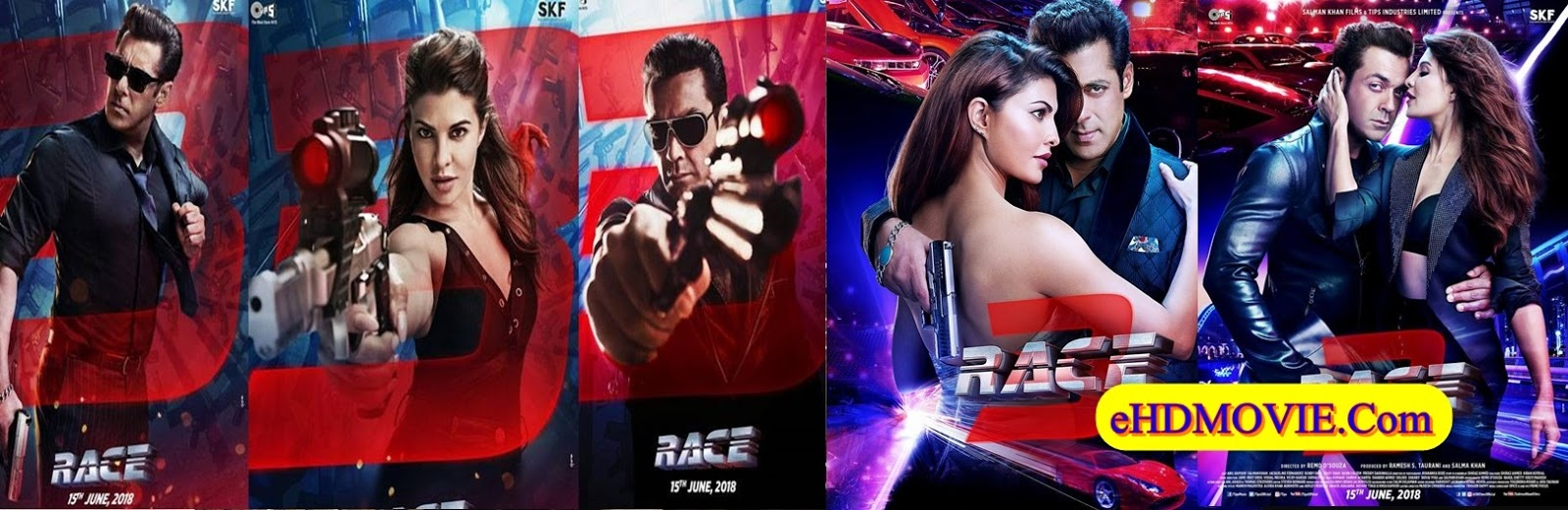 Race 3 2018 Full Movie Hindi 1080p - 720p - HEVC - 480p ORG HDRip 450MB - 700MB - 1.5GB - 3.6GB ESubs Free Download
