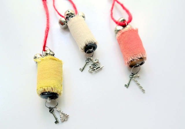 DIY Wine Cork Christmas Ornaments by Dana Tatar for Canvas Corp Brands