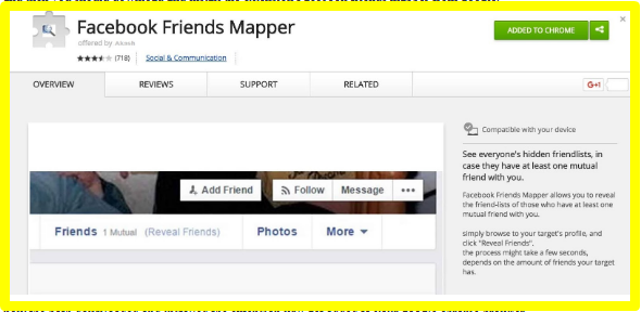 See Hidden Friends Facebook