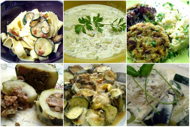 Zucchini recipes from Easy Cook