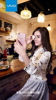 Jepretan Dual-Kamera Depan Vivo X9