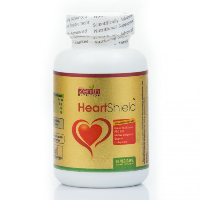 Zenith Nutrition Heart Shield Organic Veg Capsules Review