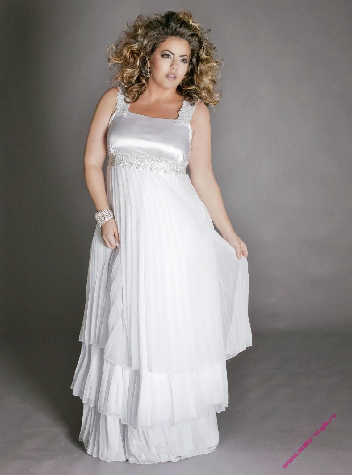 Maravillosos vestidos de novias para gorditas vestidos for Wedding dresses for thick girls