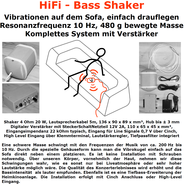 Vibrokugel Bass Shaker Wiring Diagram
