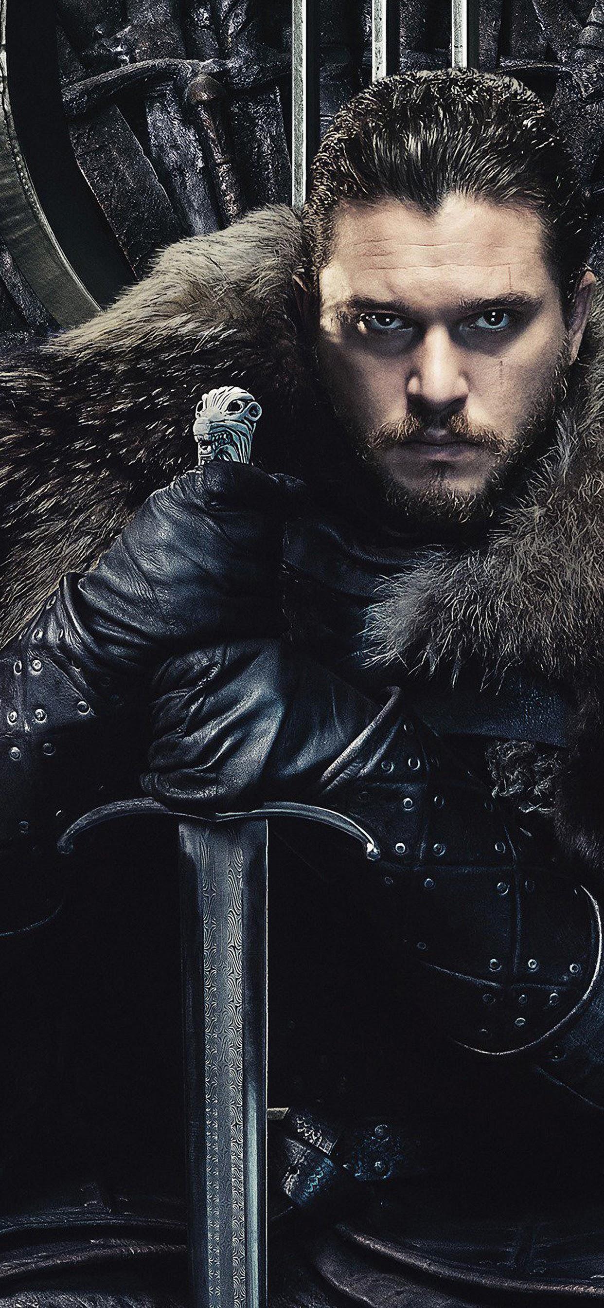 Jon Snow Game Of Thrones Season 8 4k Wallpaper 14