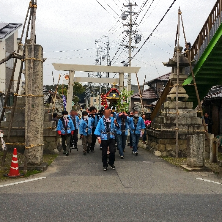 人文研究見聞録:大縣神社の奇祭・豊年祭2015(御神輿行列)