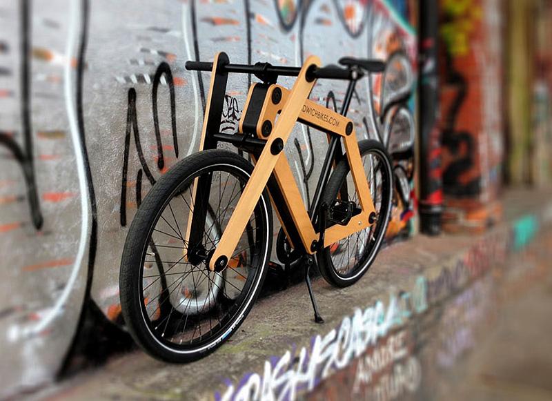 Flat-packed Sandwich bike