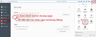 Memblokir Situs Dari Menyimpan Cookie di Firefox.