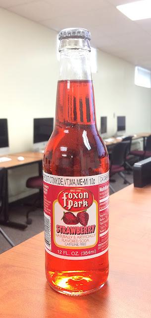 Foxon Park Strawberry Soda