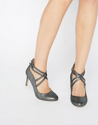 modelos de Zapatos de Fiesta Plateados