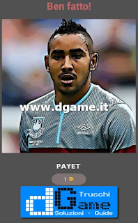Soluzioni Guess The Football Player livello 27